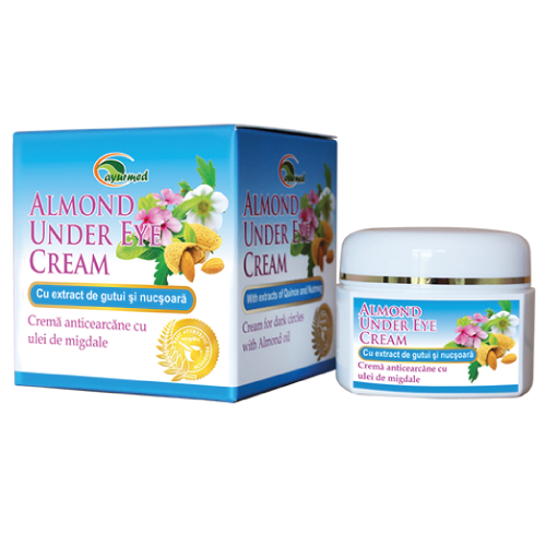 Almond Under Eye Cream  - Crema anticearcan