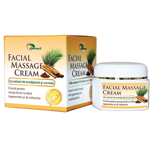 Facial Massage Cream  - Crema de fata si corp