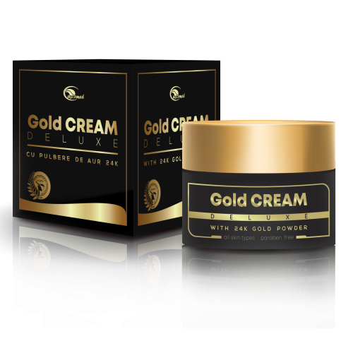Gold Cream DELUXE  - Crema de fata antirid