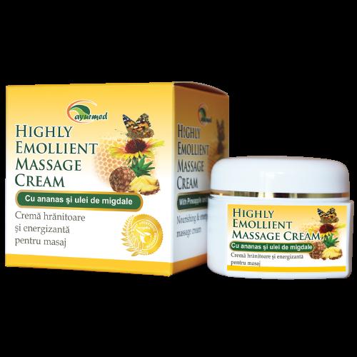 Highly Emollient Massage Cream  - Crema hranitoare pentru fata