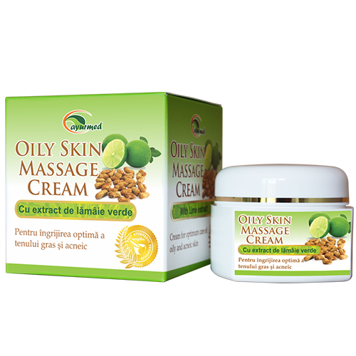Oily Skin Massage Cream  - Crema pentru masaj facial