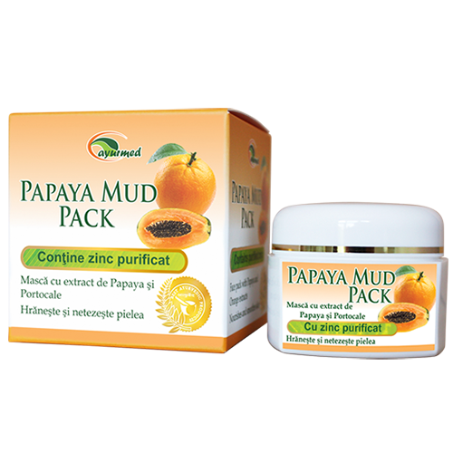 Papaya Mud Pack  - Masca de fata revitalizanta