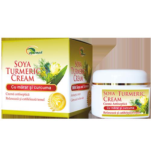 Soya Turmeric Cream  - Crema antiseptica