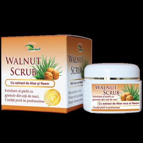 Walnut Scrub  - Scrub pentru fata