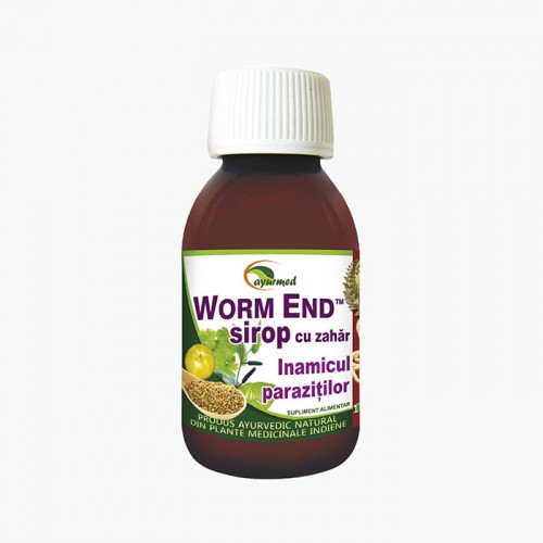 Worm End Sirop - Inlatura parazitii intestinali