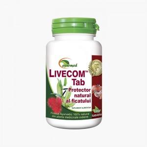 Livecom Tab - Protector natural al ficatului