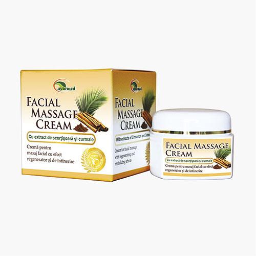Crema pentru masaj facial