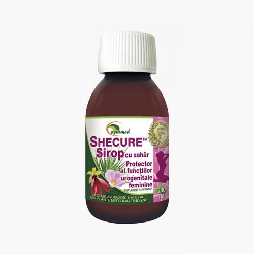 Shecure Sirop - Protector al functiilor urogenitale feminine