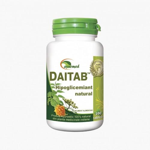 Daitab - Hipoglicemiant natural - Impotriva diabetului