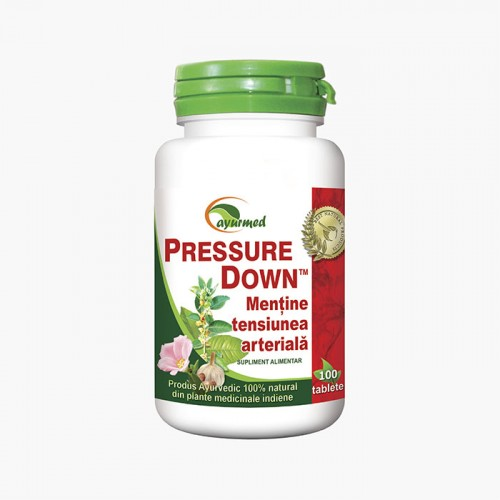 Pressure Down - Mentine tensiunea arteriala in limite normale